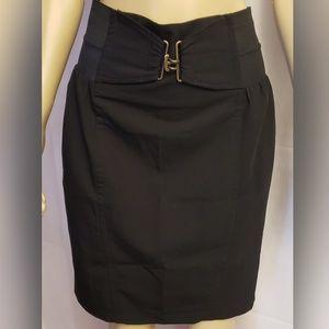 Black Arden B Pencil Skirt
